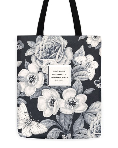 "Percy Shelley ""Blue"" Tote"