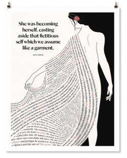 "Kate Chopin ""Garment"" Print"