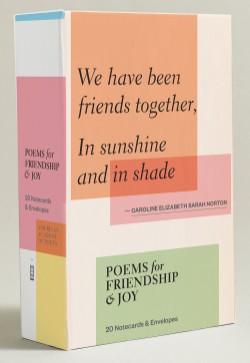 Poems for Friendship & Joy (Notecards) 20 Notecards & Envelopes