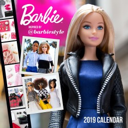 Barbie @barbiestyle 2019 Wall Calendar