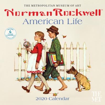 American 2020 Calendar Norman Rockwell American Life 2020 Wall Calendar (Wall)   ABRAMS