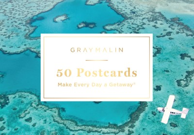 Gray Malin: 50 Postcards (Postcard Book) Make Every Day a Getaway