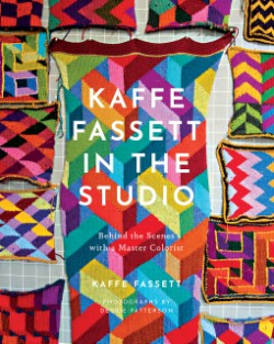 Kaffe Fassett in the Studio Behind the Scenes with a Master Colorist
