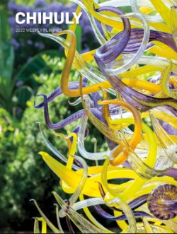 Chihuly 2022 Weekly Planner Calendar