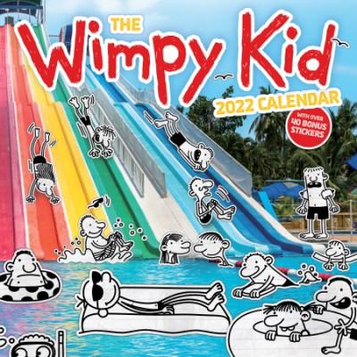 Wimpy Kid 2022 Wall Calendar