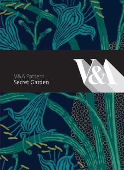V&A Pattern: Secret Garden (Hardcover with CD)