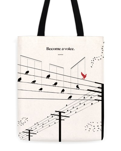 "Sappho ""Voice"" Tote"