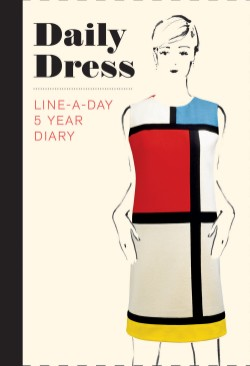 Daily Dress (Guided Journal) A Line-A-Day 5 Year Diary