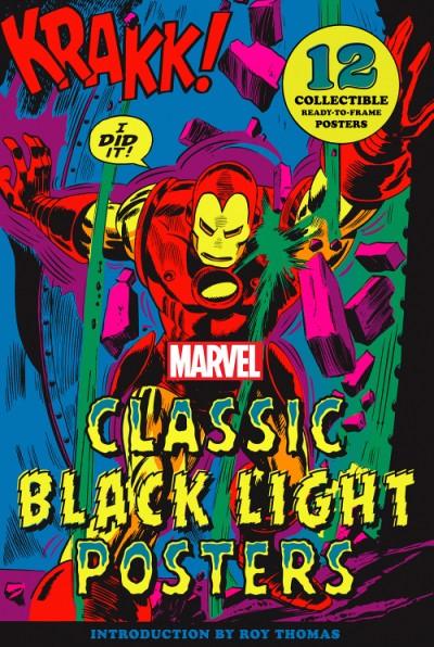 Marvel Classic Black Light Collectible Poster Portfolio