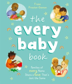 Every Baby Book Families of Every Name Share a Love That's Just the Same