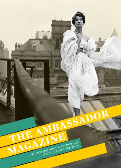 Ambassador Magazine Promoting Post-War British Textiles and Fashion