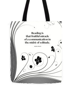 "Marcel Proust ""Reading"" Tote"