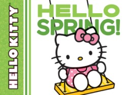 Hello Kitty, Hello Spring!
