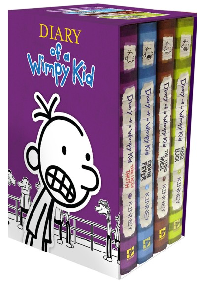 Diary of a Wimpy Kid Box of Books 5-8 (Boxed Set) | ABRAMS