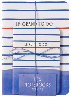 Paris Street Style: Les Notebooks (Set of 3)