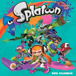 Splatoon™ 2018 Wall Calendar