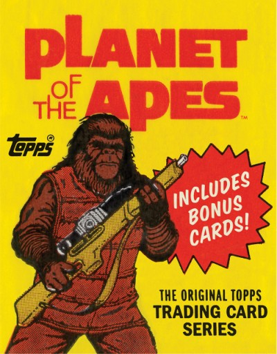 Planet of the Apes The Original Topps Trading Card Series