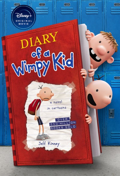 Diary of a Wimpy Kid (Special Disney+ Cover Edition)