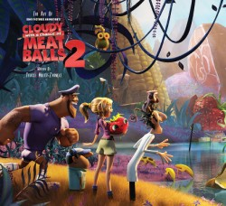 Art of Cloudy with a Chance of Meatballs 2