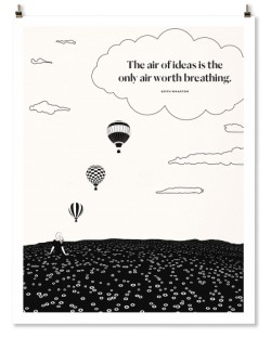 "Edith Wharton ""Air"" Print"
