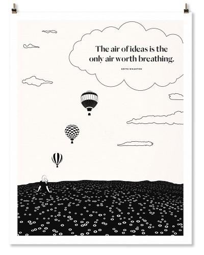 """Edith Wharton """"Air"""" Print"""