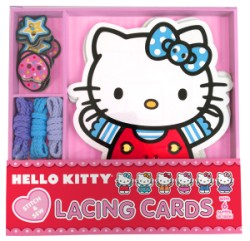 Hello Kitty Stitch & Sew Lacing Cards