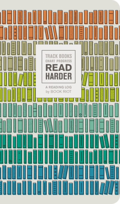 Read Harder (A Reading Log) Track Books, Chart Progress