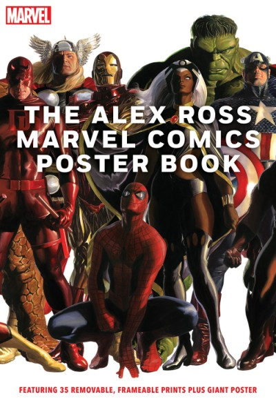 Alex Ross Marvel Comics Poster Book