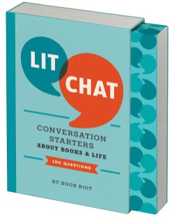 Lit Chat Conversation Starters about Books and Life (100 Questions)
