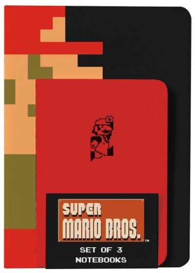 Super Mario Bros. Notebooks (Set of 3)