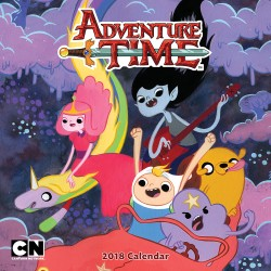 Adventure Time™ 2018 Wall Calendar