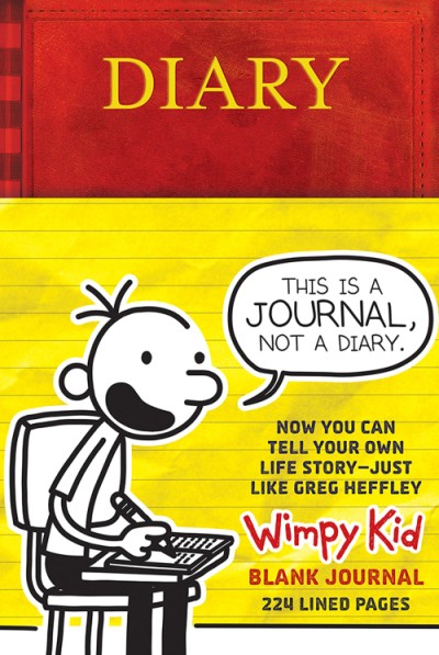 Diary of a Wimpy Kid Blank Journal