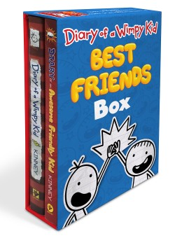 Diary of a Wimpy Kid: Best Friends Box (Diary of a Wimpy Kid Book 1 and Diary of an Awesome Friendly Kid)
