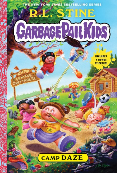 Camp Daze (Garbage Pail Kids Book 3)