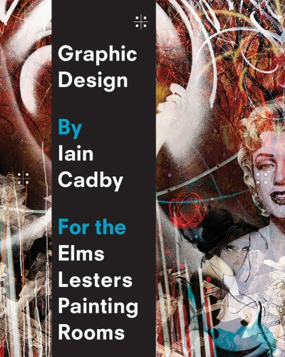 Graphic Design by Iain Cadby for the Elms Lesters Painting Rooms