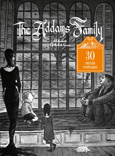 Addams Family 30 Deluxe Postcards