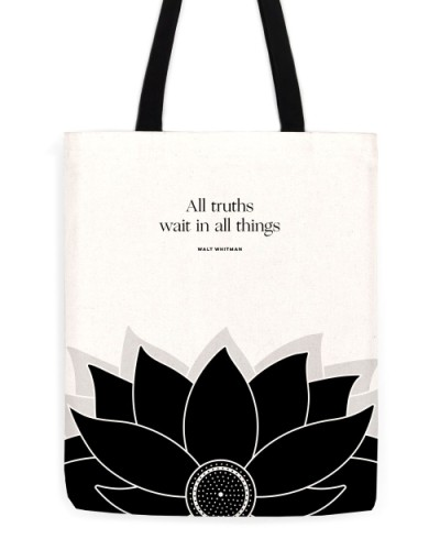 "Walt Whitman ""Truths"" Tote"