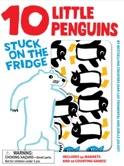 10 Little Penguins Stuck on the Fridge