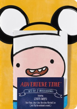 Adventure Time Notebooks: Gender Swap (Set of 3)