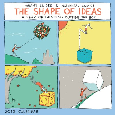 The Shape of Ideas 2018 Wall Calendar (Wall) | ABRAMS