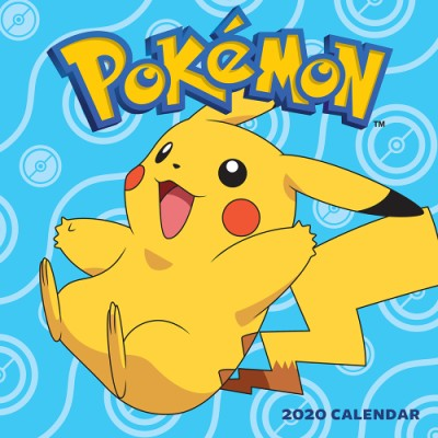 Pokemon Calendar 2020 Pokémon 2020 Wall Calendar (Wall)   ABRAMS