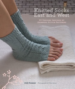 Knitted Socks East and West 30 Designs Inspired by Japanese Stitch Patterns