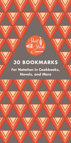 Short Stack 30 Bookmarks For Notation in Cookbooks, Novels, and More