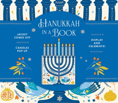 Hanukkah in a Book (UpLifting Editions) Jacket comes off. Candles pop up. Display and celebrate!