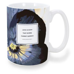 "Anne Bradstreet ""Rivers"" Mug"