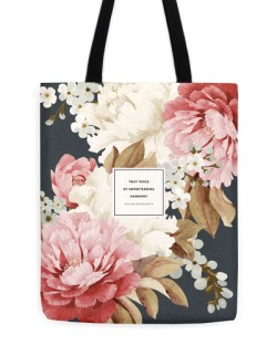 "William Wordsworth ""Harmony"" Tote"