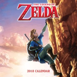 Legend of Zelda™ 2018 Wall Calendar