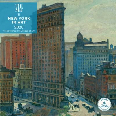 New York Calendar 2020 New York in Art 2020 Wall Calendar (Wall) | ABRAMS