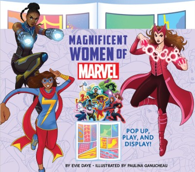 Magnificent Women of Marvel Pop Up, Play, and Display!