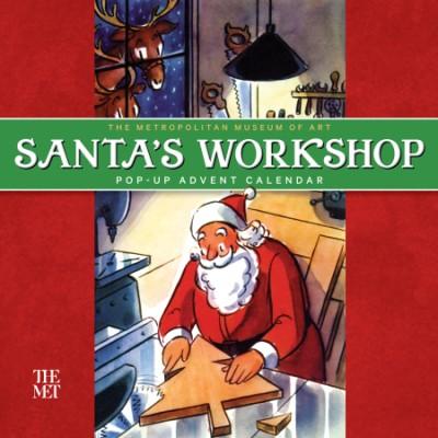 Santa's Workshop Pop-up Advent Calendar